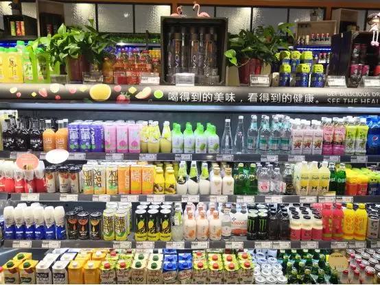 夏季热销饮料品类陈列方案实操